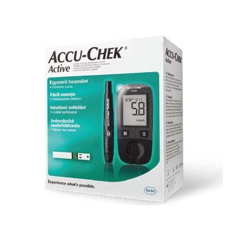 Accu-Chek Active Kit vércukormérő készlet