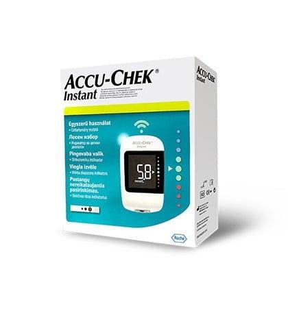 Accu-Chek Instant Kit vércukormérő tesztcsík 50 db/doboz