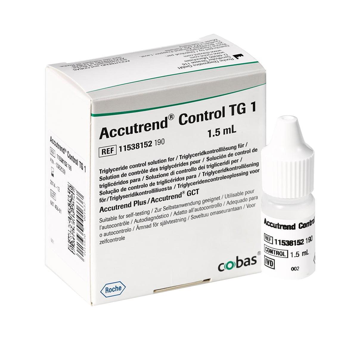 Accutrend Control TG 1 (1,5 ml)