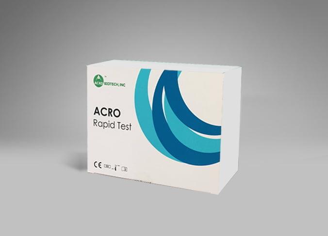 COVID-19 IgM/IgG ellenanyag gyorsteszt 25 teszt/doboz -Acro
