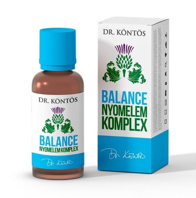 Balance nyomelem komplex csepp (dr Köntös) A jobb immunrendszerért!