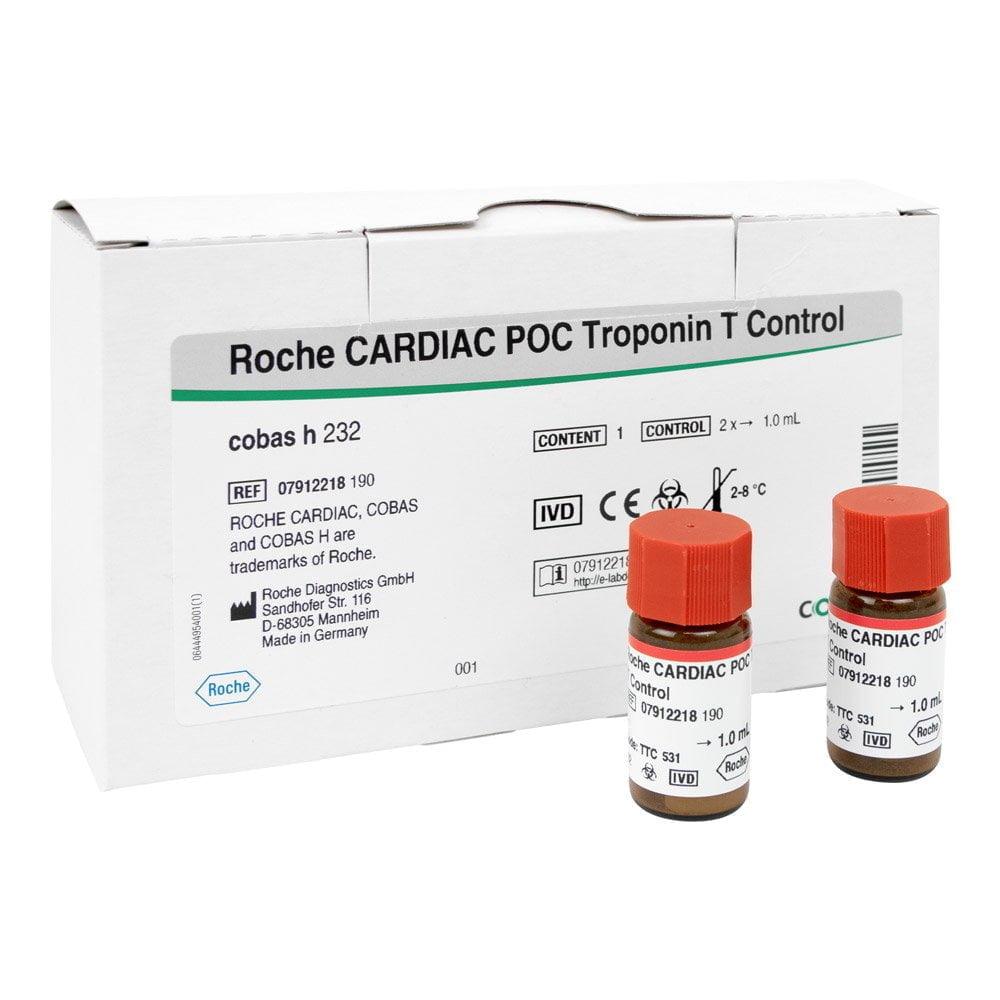 Roche CARDIAC POC Troponin T Control
