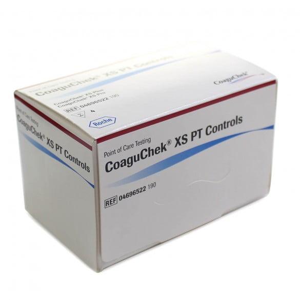 CoaguChek XS PT Controls tesztcsík a CoaguChek XS véralvadásmérő készülékekhez