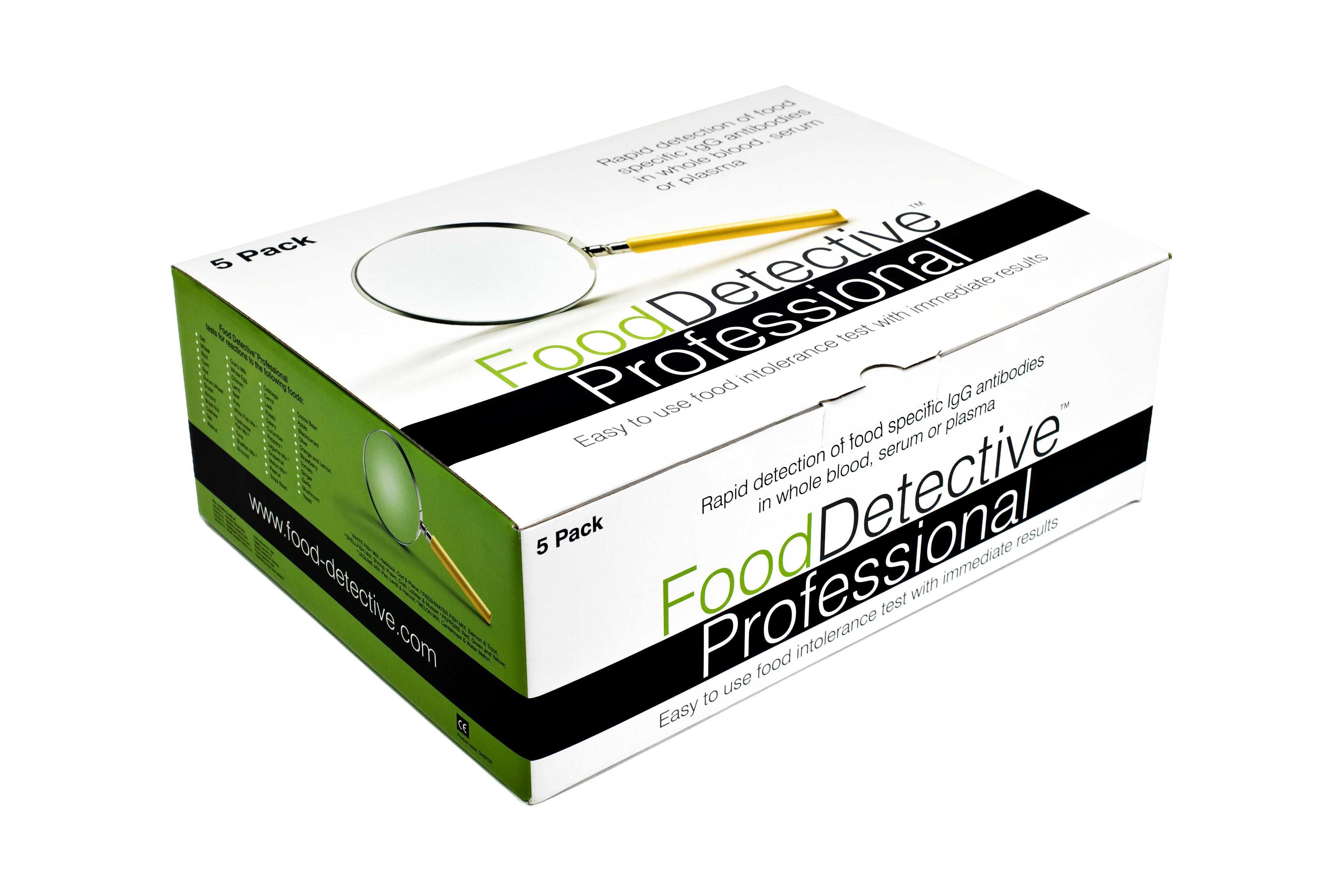 Ételintolerancia gyorsteszt (5 teszt/doboz) PROFESSIONAL
