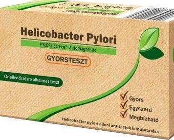 Gyomorbántalmak esetére: Helicobacter Pylori gyorsteszt