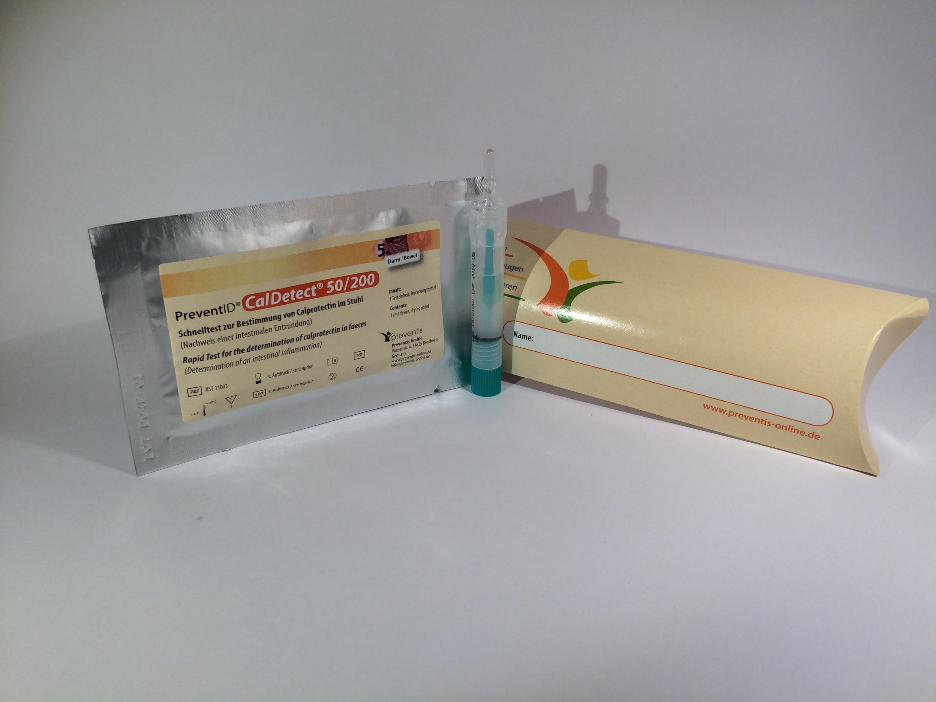 Calprotectin Detect gyorsteszt - CalDetect® 50/200