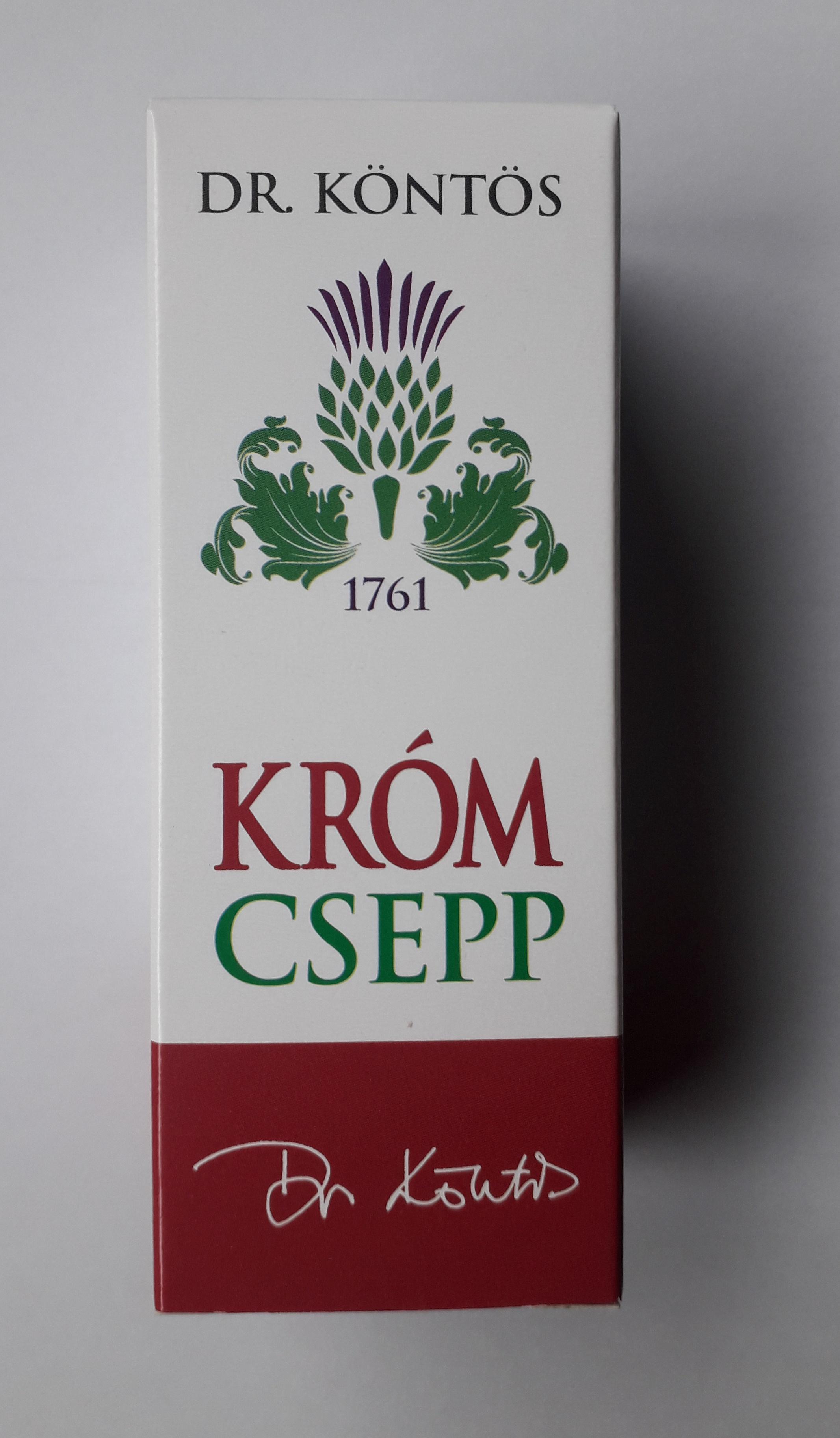 Króm csepp - dr. Köntös 30 ml