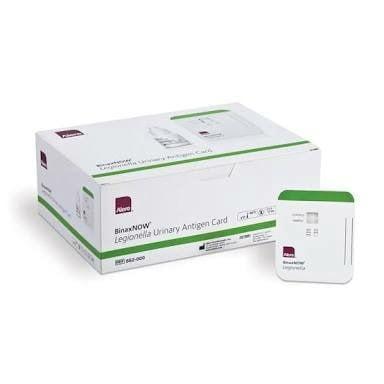 Legionella vizelet antigén tesztcsík (12 db) BinaxNOW