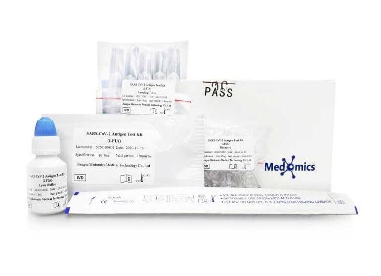 SARS CoV-2 Rapid Antigén gyorsteszt - (1X) MEDOMICS