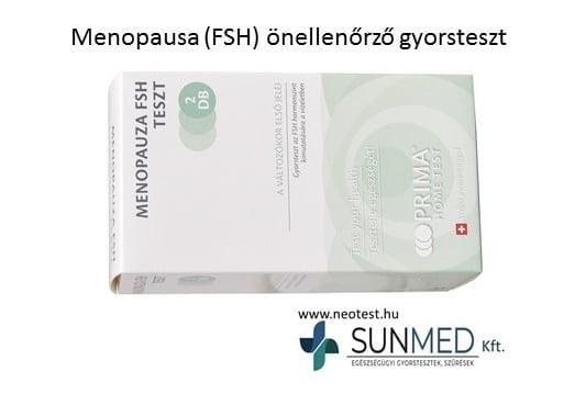 Menopauza FSH gyorsteszt (2x) Prima