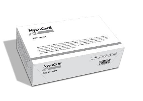 CRP tesztcsík (48x) NycoCard Reader analizáló készülékhez