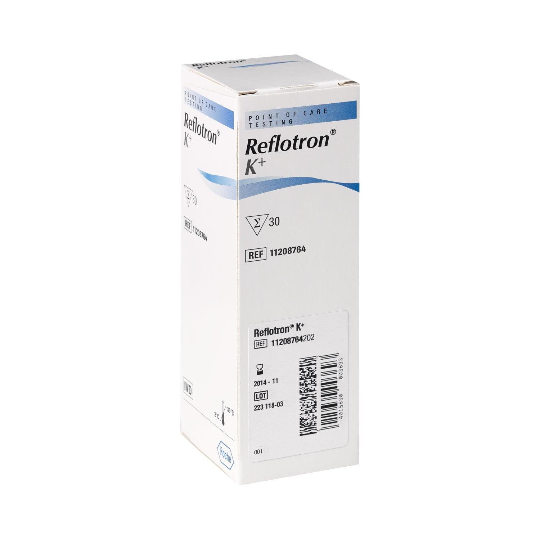Reflotron Kálium (Potassium) teszt (30 db/doboz) Roche