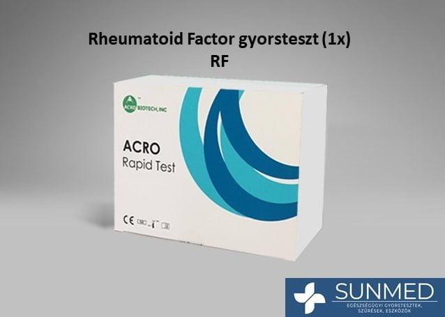 Rheumatoid faktor RF gyorsteszt (1 db)