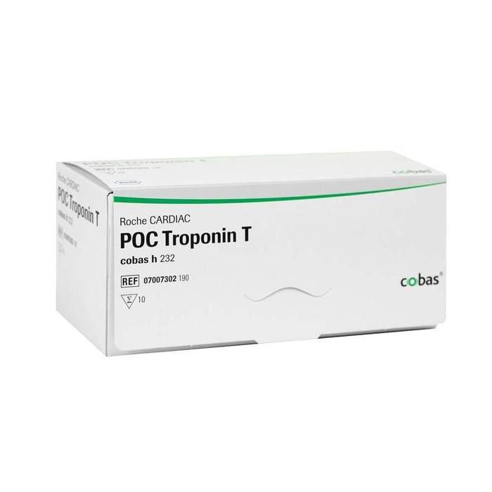 Roche CARDIAC POC Troponin T 10 teszt/doboz