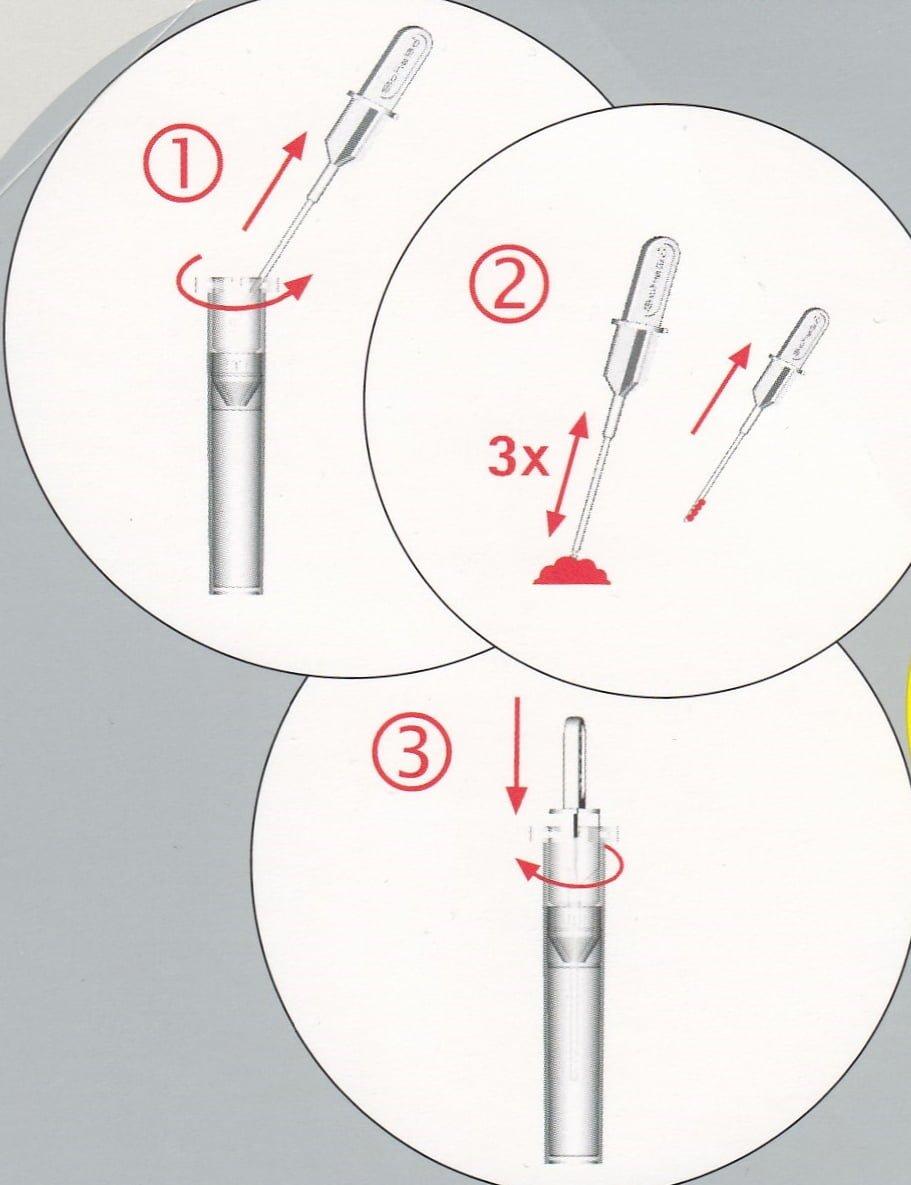 Enzimes hasnyálmirigy funkciós székletteszt (ScheBo® Pancreas Elastase 1Quick)