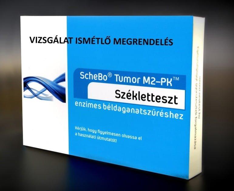 Enzimes béldaganastszűrés Vizsgálatismétlő szűrőcsomag (ScheBo®• Tumor M2-PK)