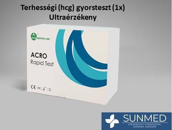 Terhességi tesztcsík (hCG) 1 db Ultra érzékenység