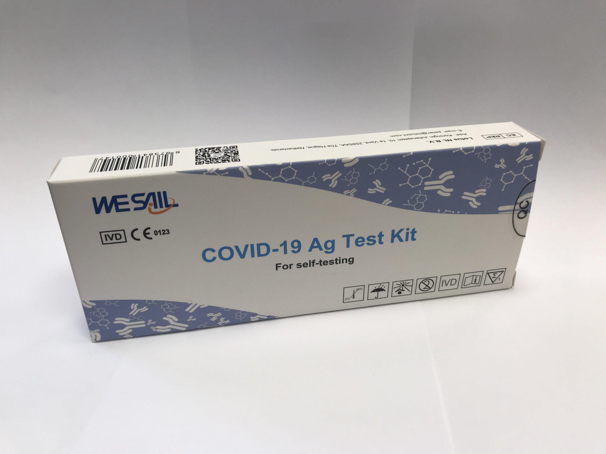 Covid 19 Ag Nasal Self Test 1x